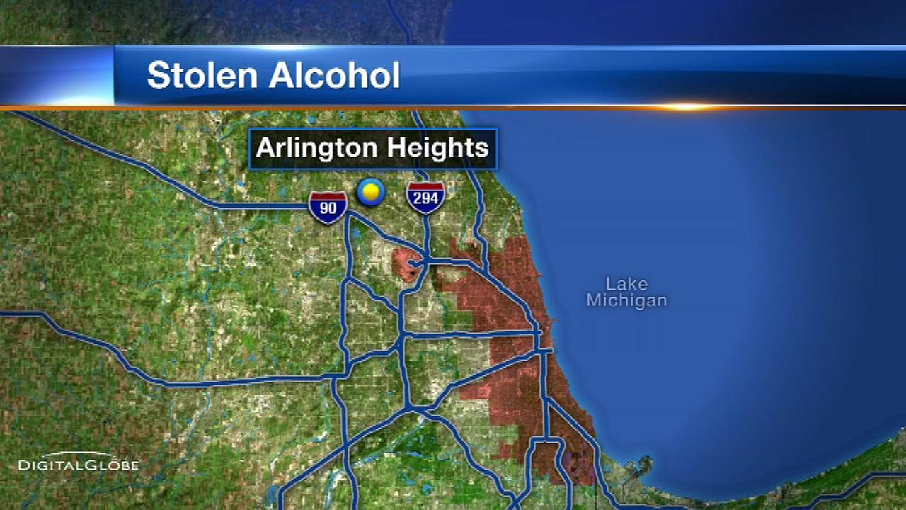 Thieves steal $1,600 worth of booze from suburban Jewel-Osco