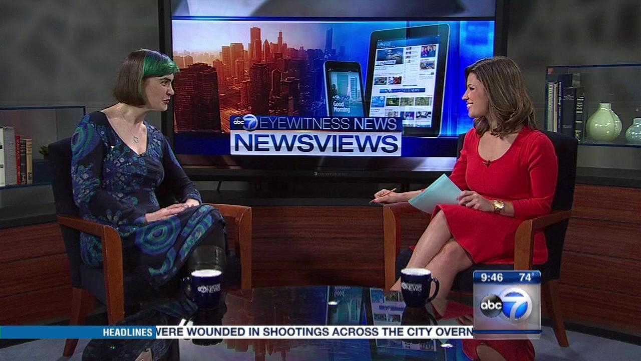 Stacy Ratner, co-founder of the Literacenter in Chicago, talks with ABC7s Tanja Babich