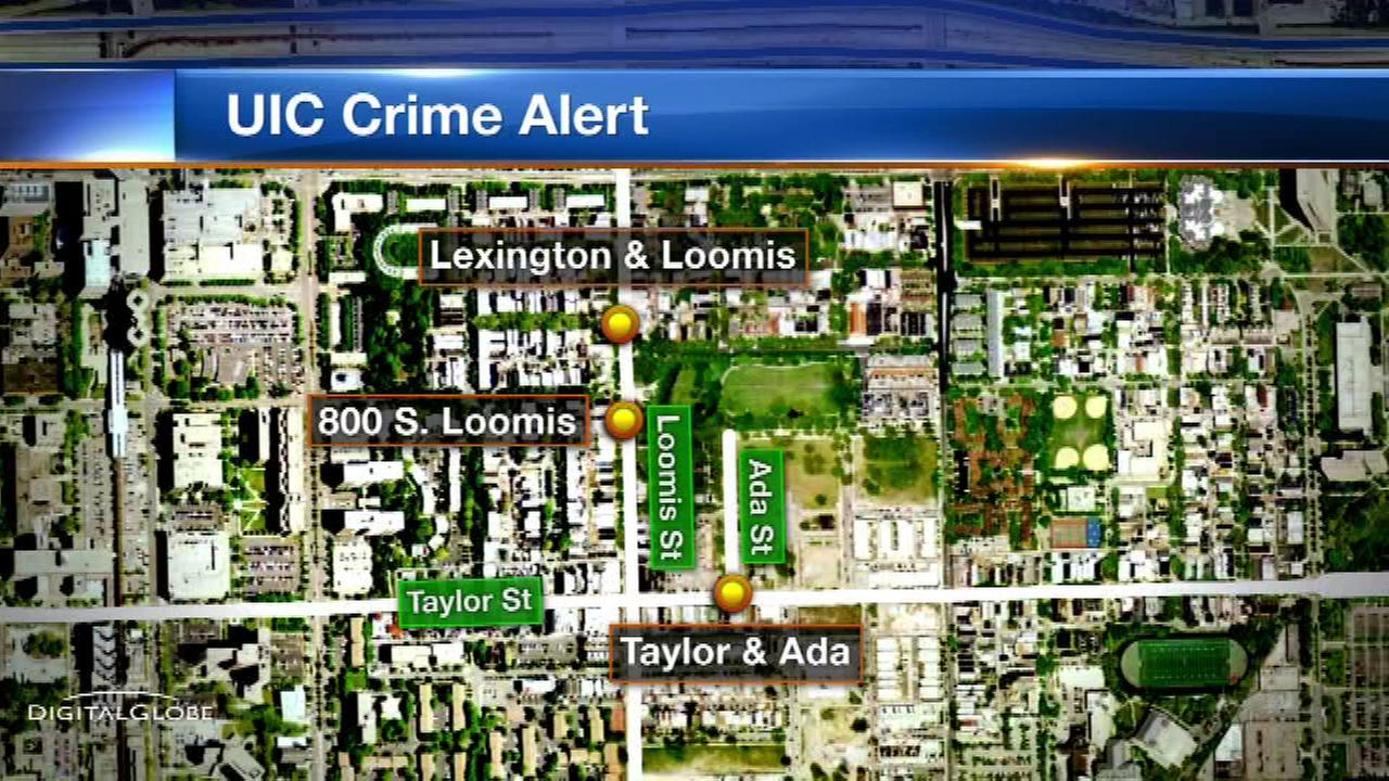 Police issue alert for robberies near UIC