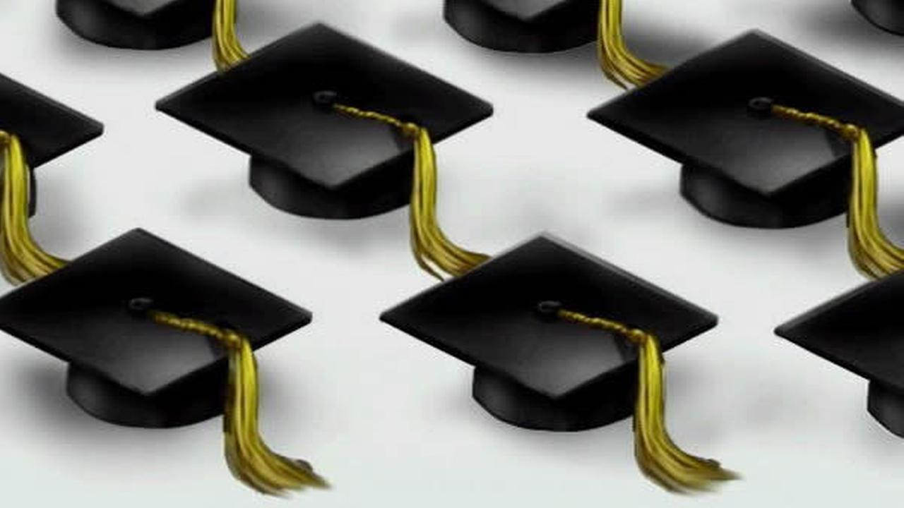File Photo: Graduation caps