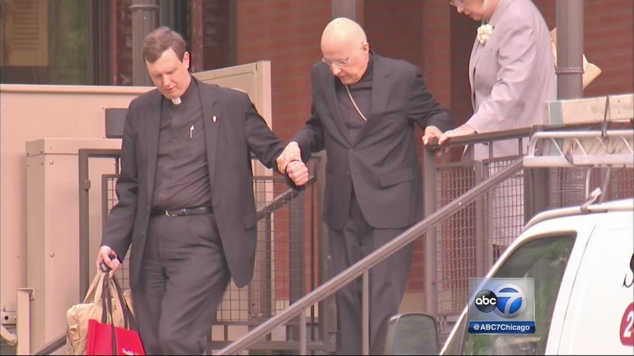 Cardinal George gives deposition in McCormack case