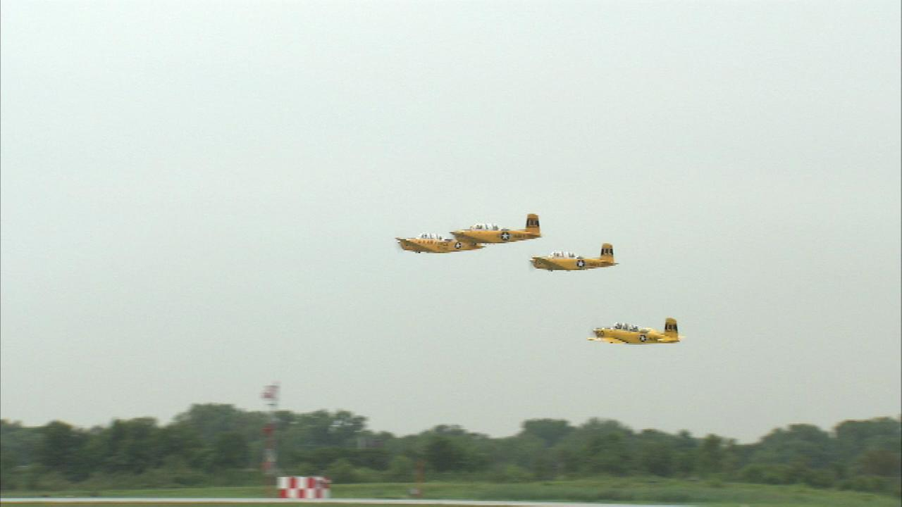The Gary Air Show will once again take to the skies this weekend for the first time in two years.
