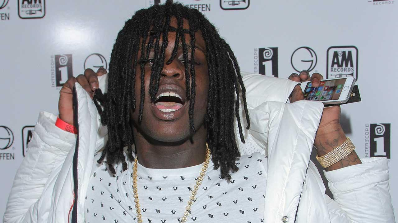 Chief Keef seen at Interscope Records Pre Party at the W Hotel Hollywood on Saturday, June 28, 2014, in Los Angeles, Calif.