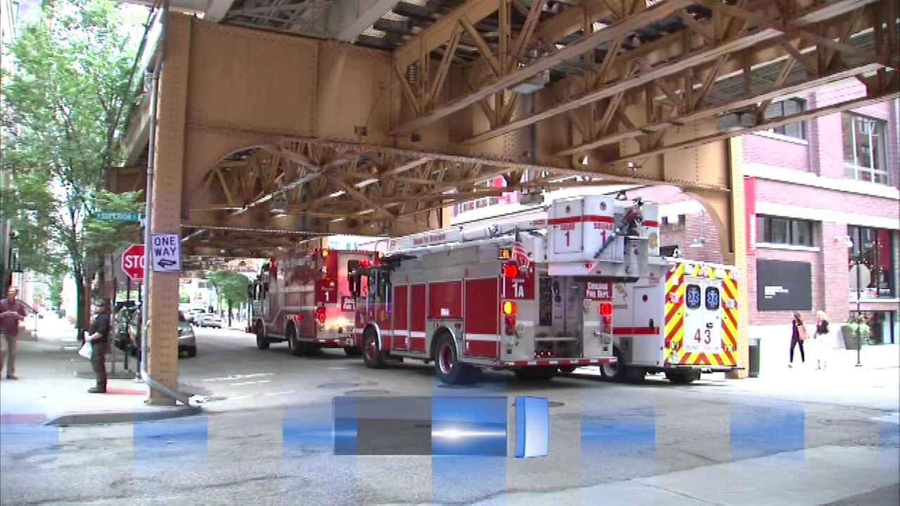 Firefighters were called to River North neighborhood Tuesday afternoon.