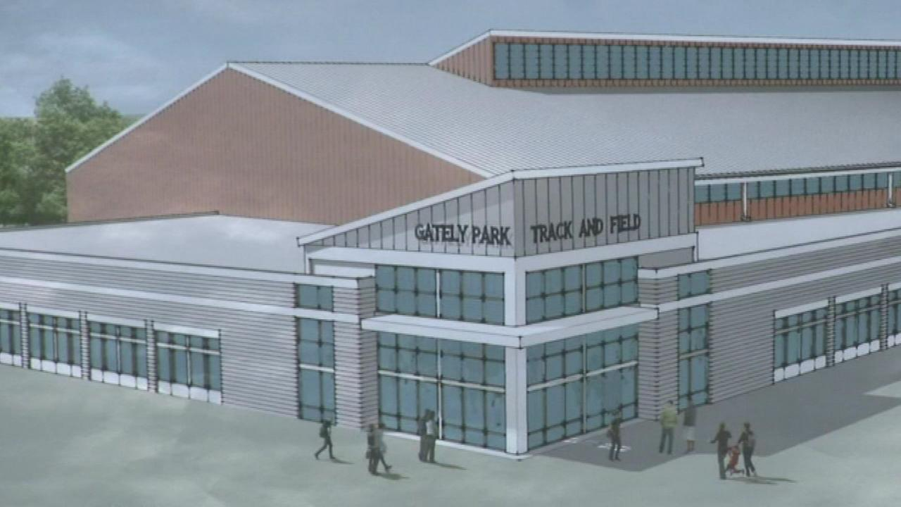 The first public indoor track and field facility in Chicago will be built at Gately Park in the Pullman neighborhood.