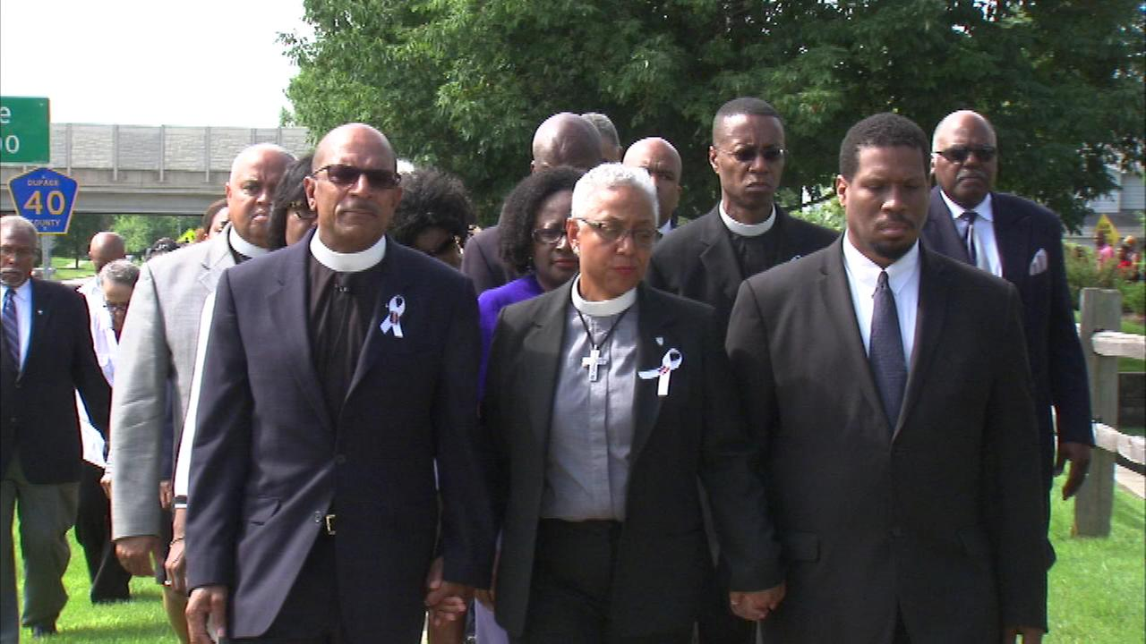 A local church hosted a prayer walk Sunday for Sandra Bland, the woman found dead inside a Texas jail cell.