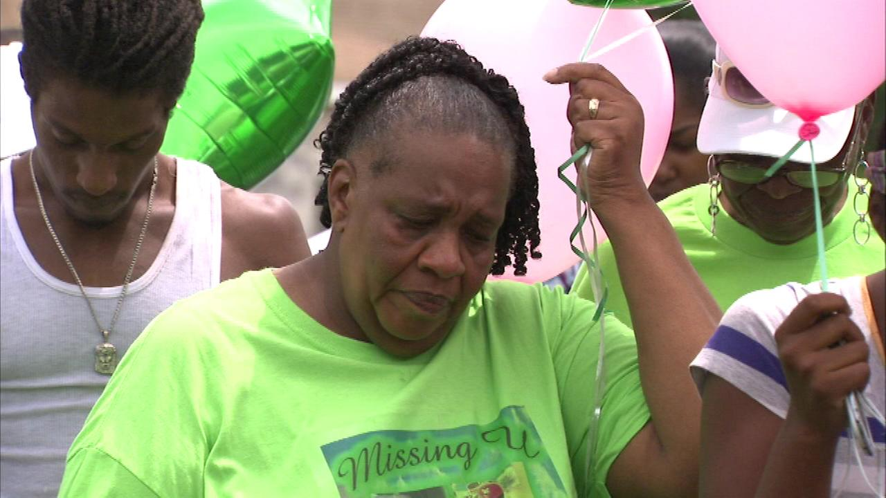 It was an emotional day as those who loved 11-year-old Shamiya Adams marked the anniversary of her death.