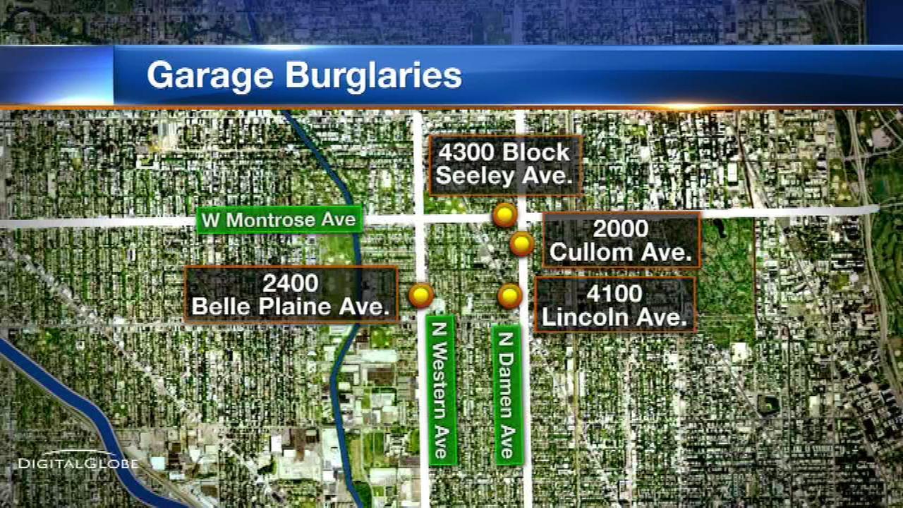 garage robberies
