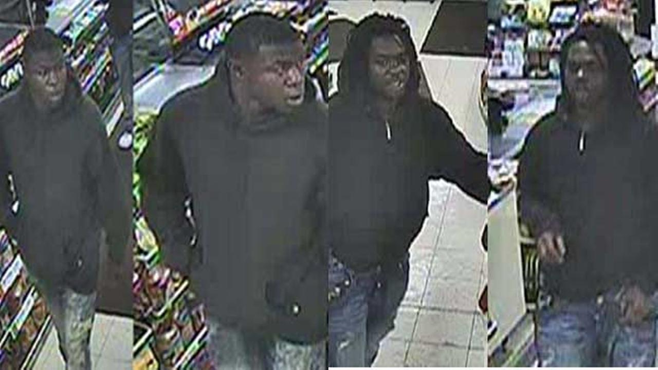Chicago police released surveillance pictures of two men they say are involved in armed robberies targeting small retail stores.