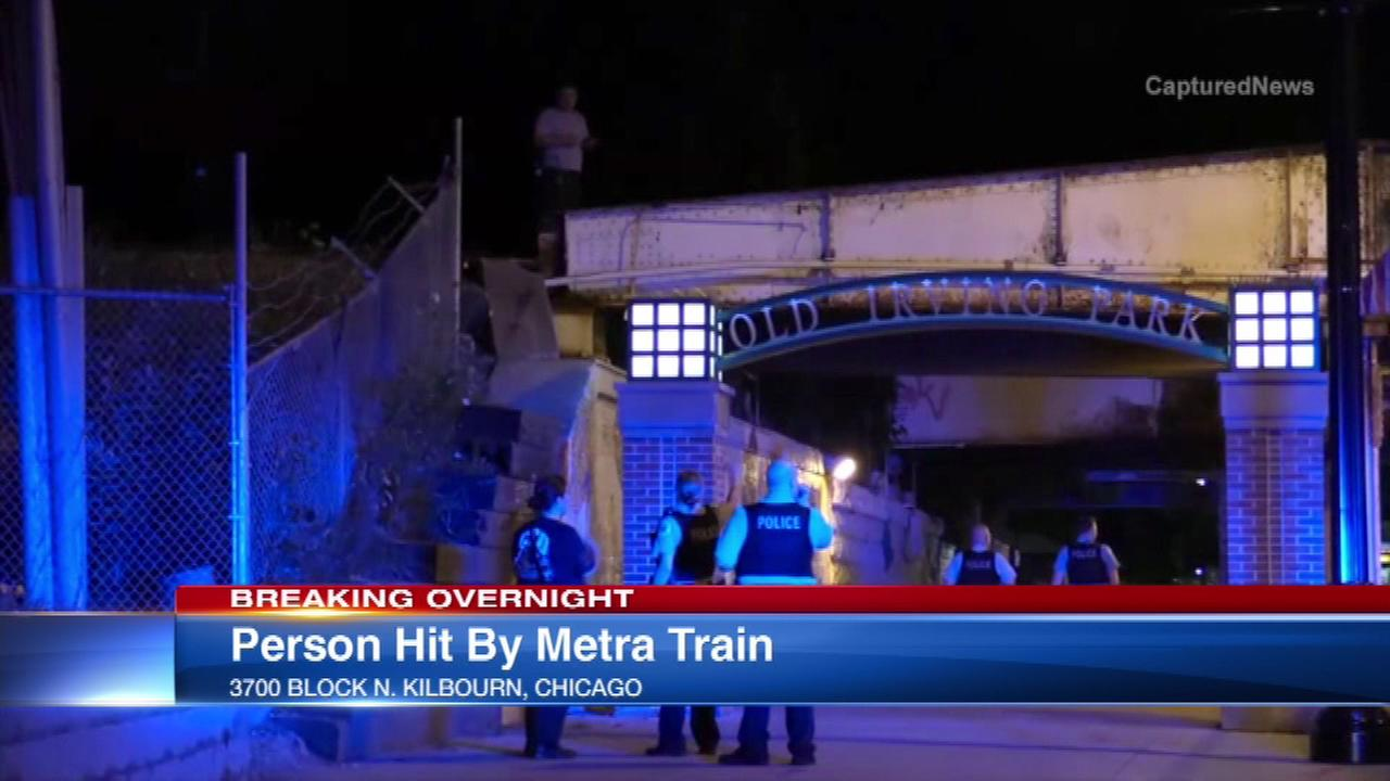 Person struck and killed by Metra train overnight