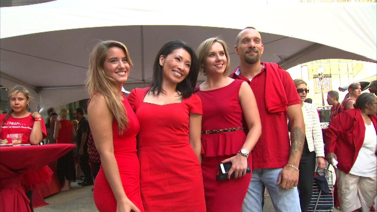 Red Dress Dash supports American Heart Association