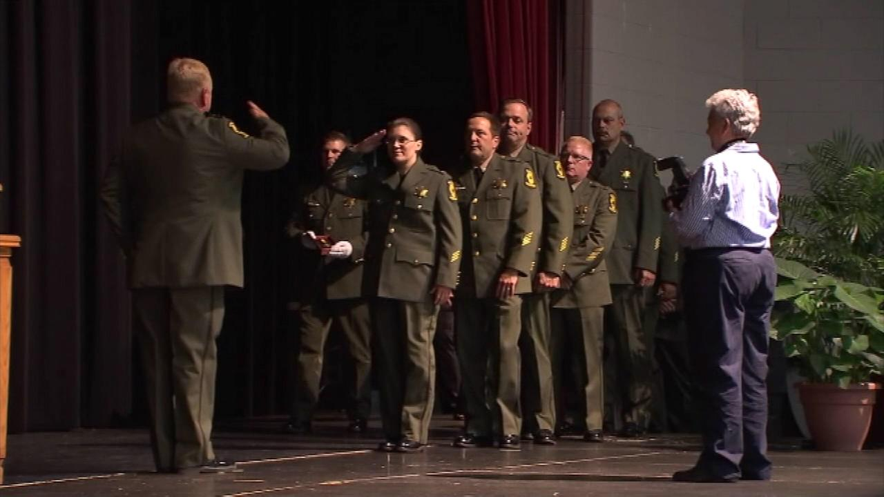 Illinois State Police give awards for heroism and professionalism