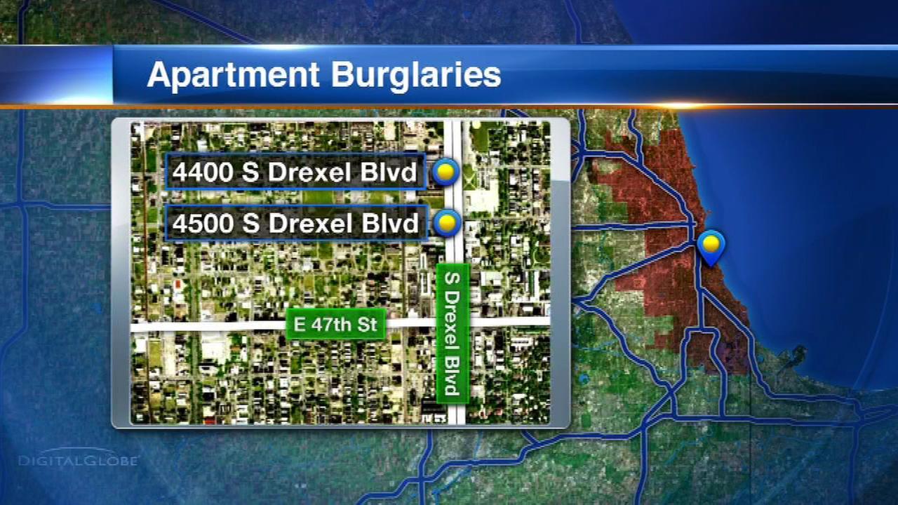 Police warn of burglaries in Kenwood