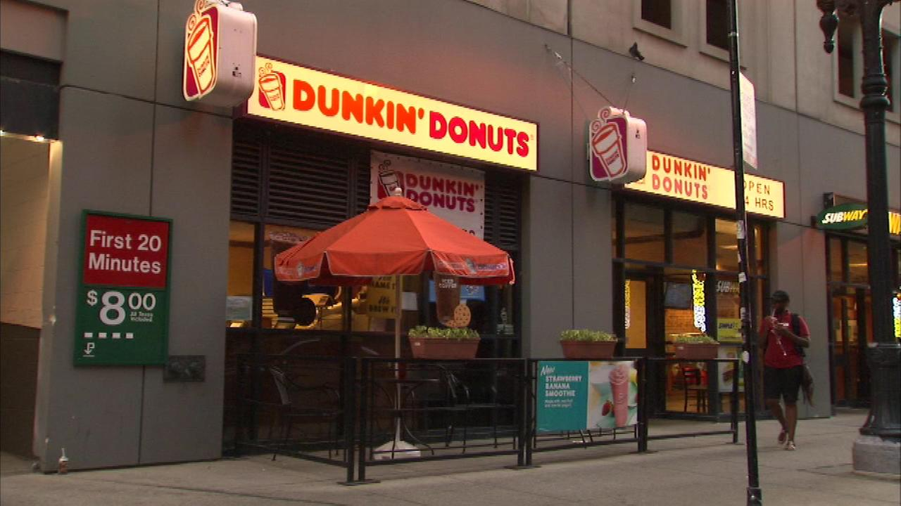 dunkin donuts robbed