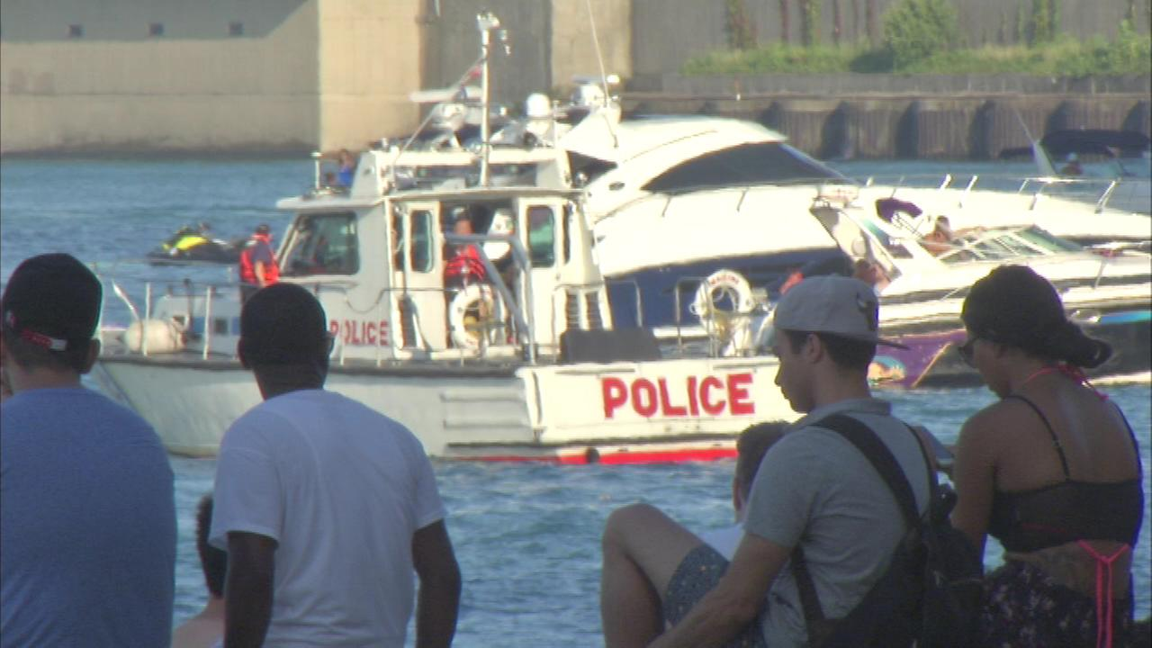 A 35-year-old man pulled from Lake Michigan near Oak Street Beach Sunday evening died at a local hospital.