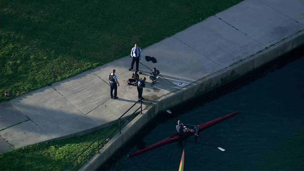Woman rescued from Lake Michigan near Diversey Harbor
