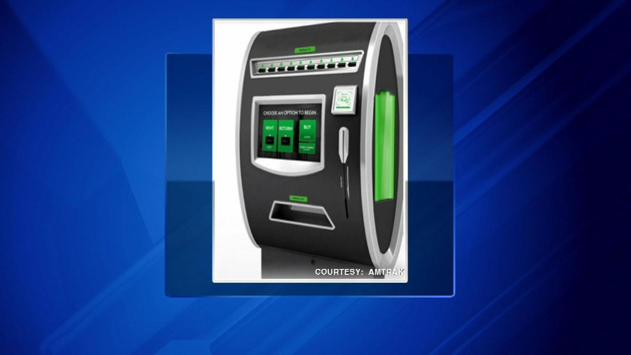 MobileQubes offers mobile device charging at Union Station