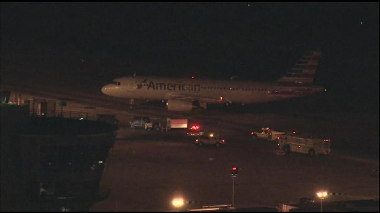 An American Airlines flight had to make an emergency landing at Philadelphia International Airport Friday night.