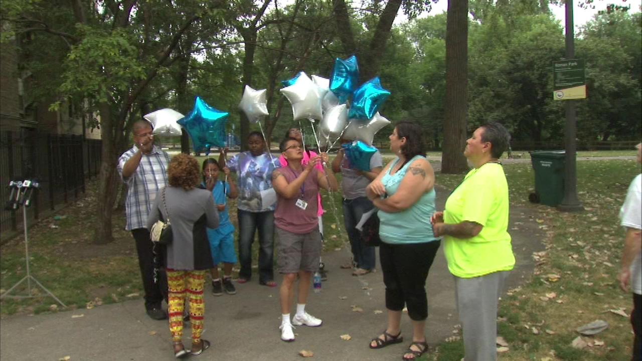 Family and friends of a young murder victim in Chicago are trying to uncover more clues about the unsolved case.