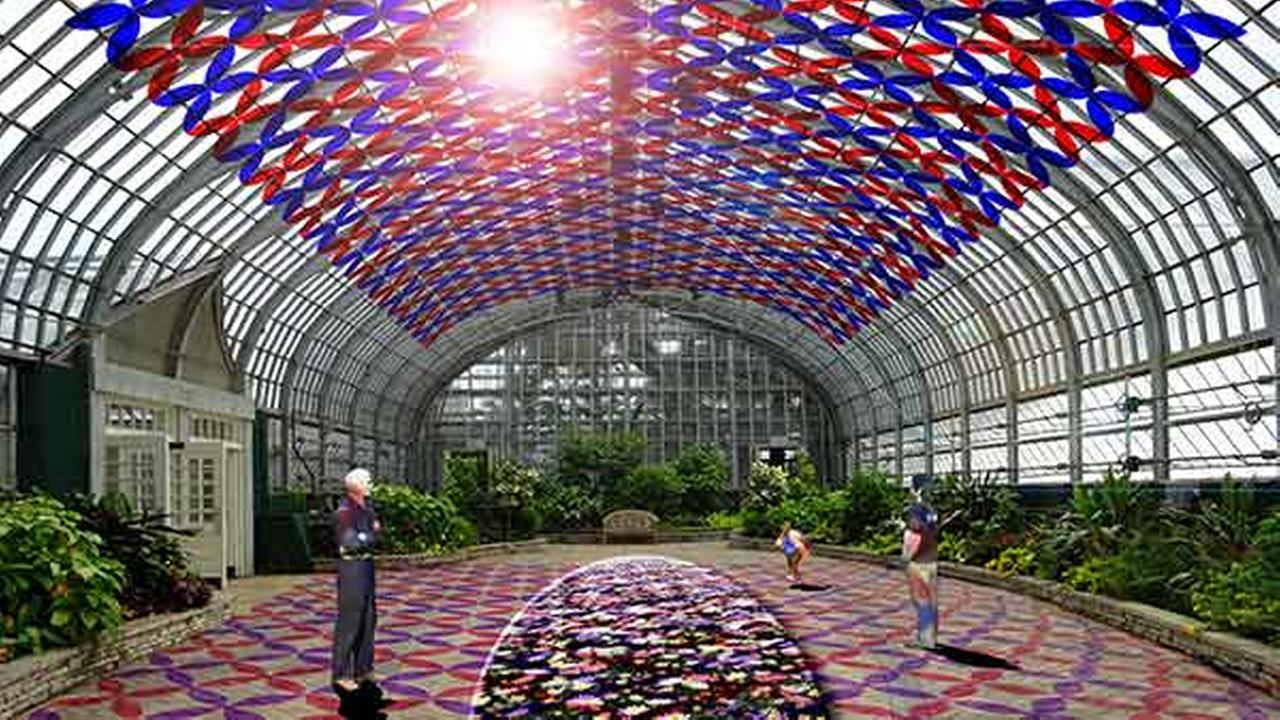 Garfield Park Conservatory to host light and reactive sculpture installations