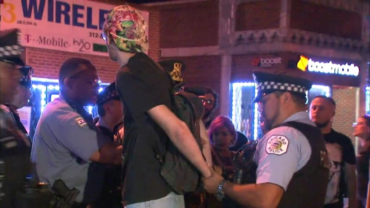 ferguson protester arrested Chicago