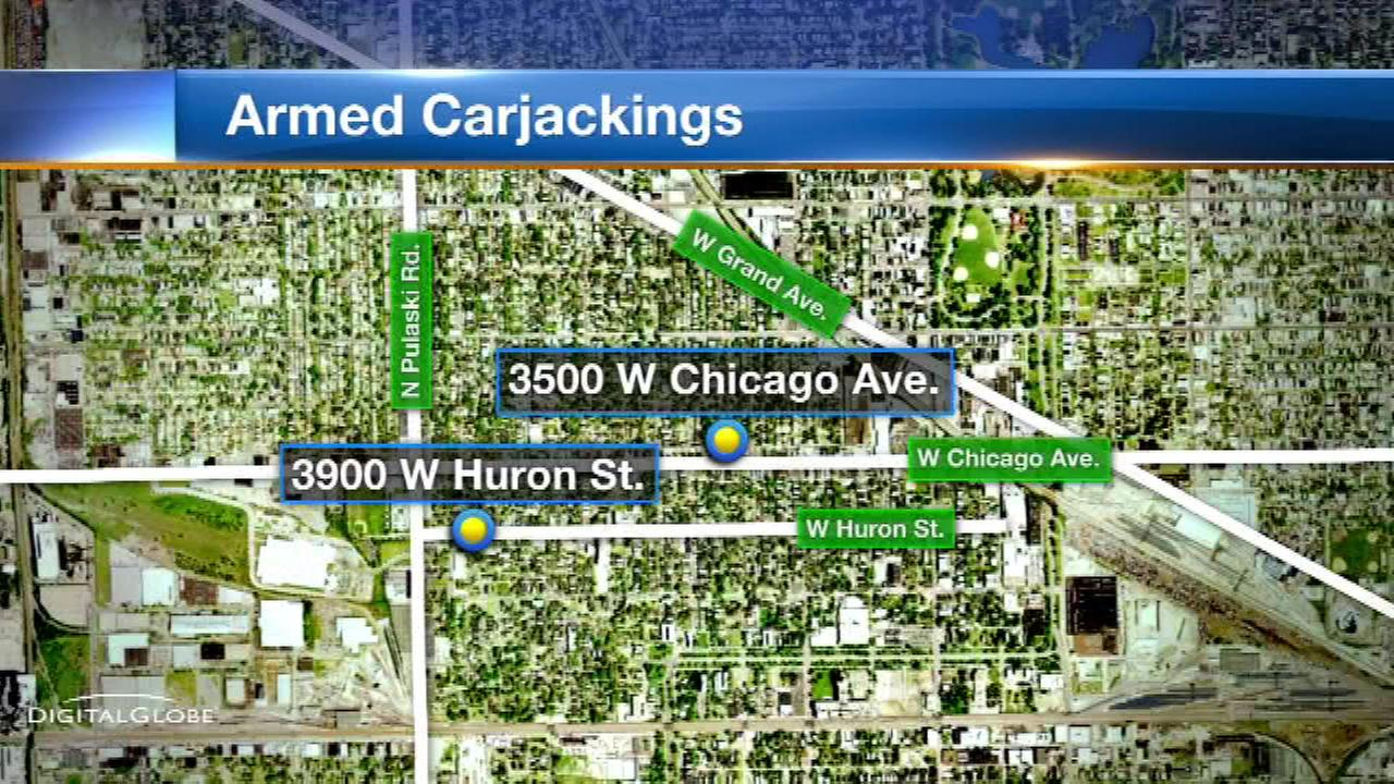Carjackings prompt police warning on West Side
