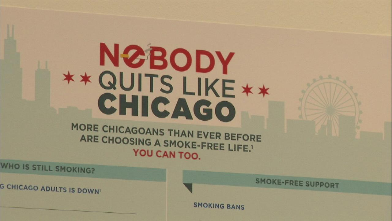 'Nobody Quits like Chicago' anti-smoking campaign kicks off