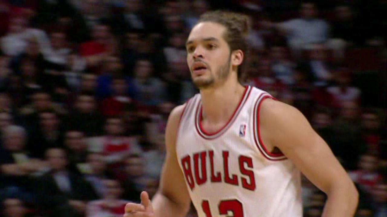Joakim Noah earns first-team All-NBA honors.