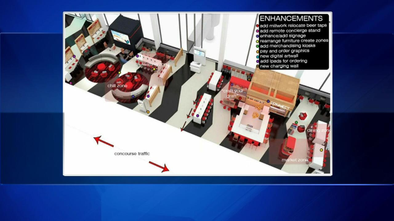 Renderings show planned O'Hare terminal upgrades
