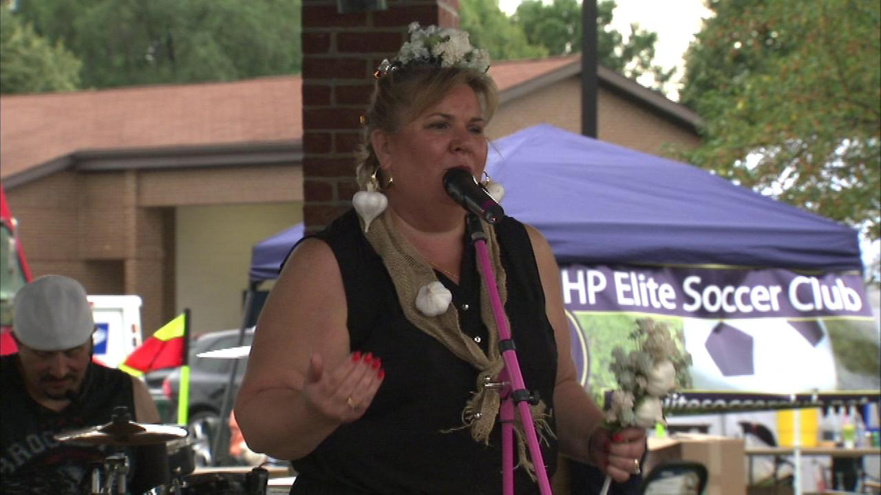 As the queen of the Garlic Fest in north suburban Highwood says, its stinky to some, but perfume to others.