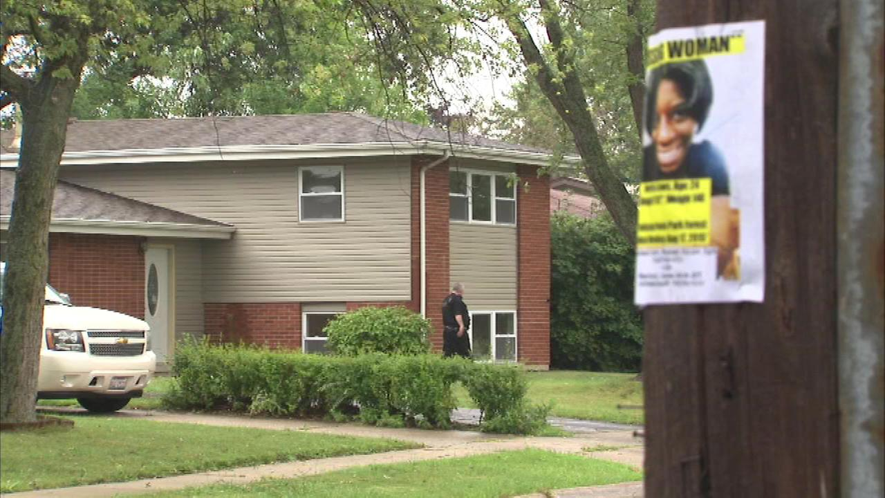 Police in south suburban Park Forest conducted a door-to-door search Sunday for a woman who disappeared nearly a week ago.