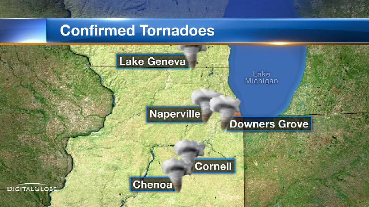 Downers Grove tornado sirens didn't sound due to power failure, officials say