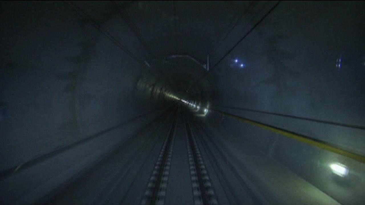 World's longest tunnel completed under the French Alps