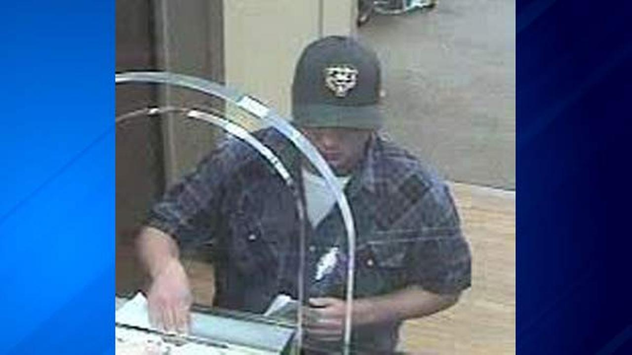 The FBI released this photo of a man wanted for robbing two banks on Chicagos North Side.