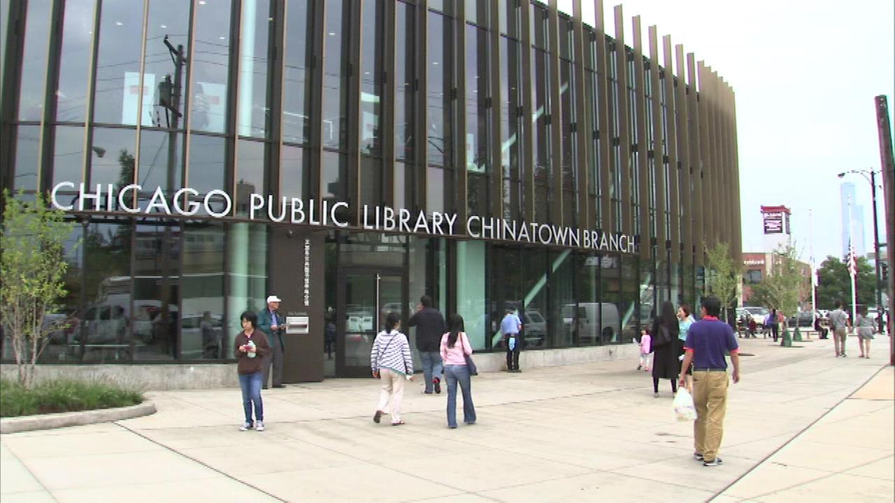 A big crowd turned out Saturday for the opening a new Chicago Public Library in Chinatown on the citys South Side.
