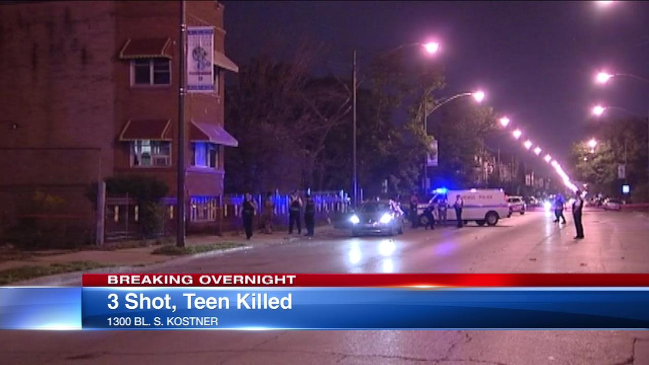 Teen dead in North Lawndale drive-by shooting