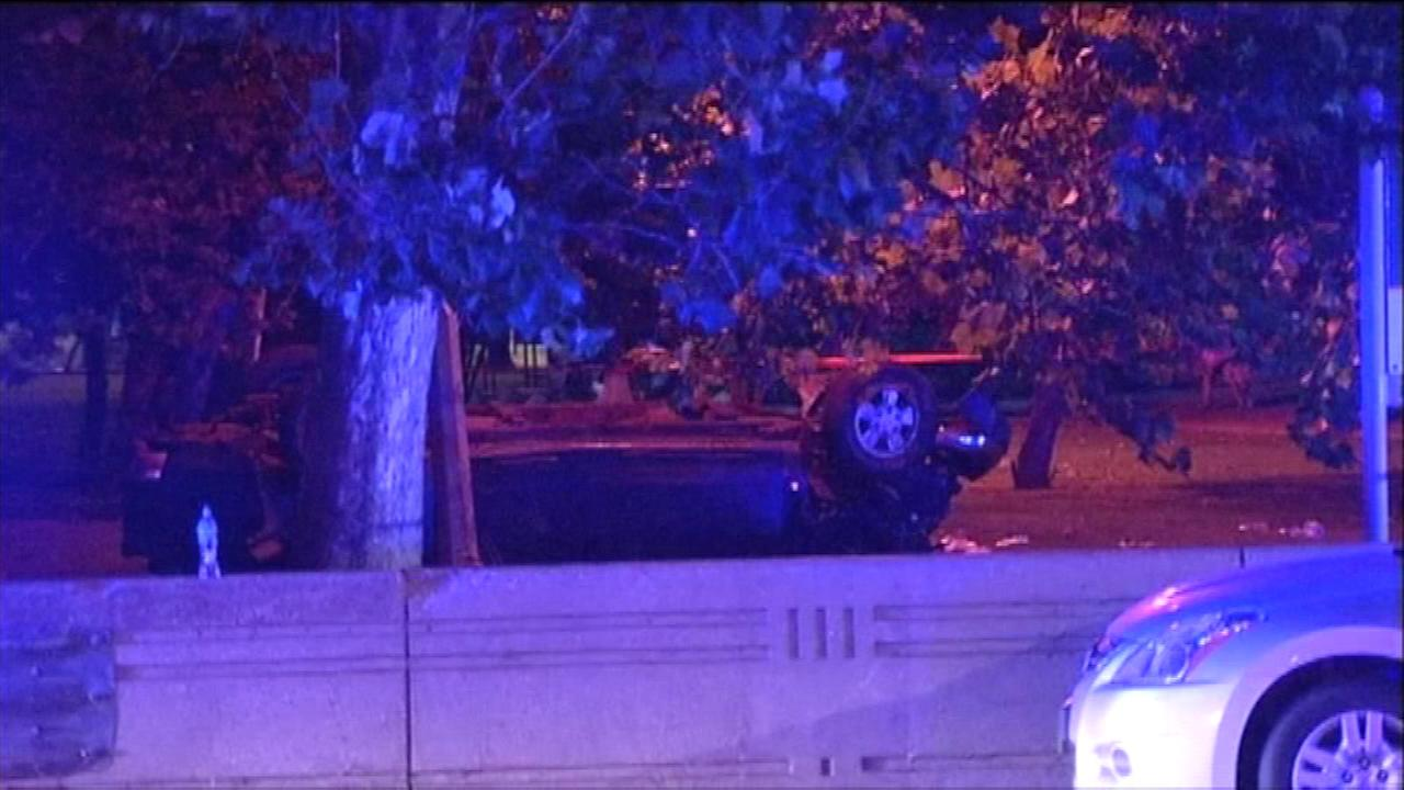 One killed, one injured in Lake Shore Drive rollover crash