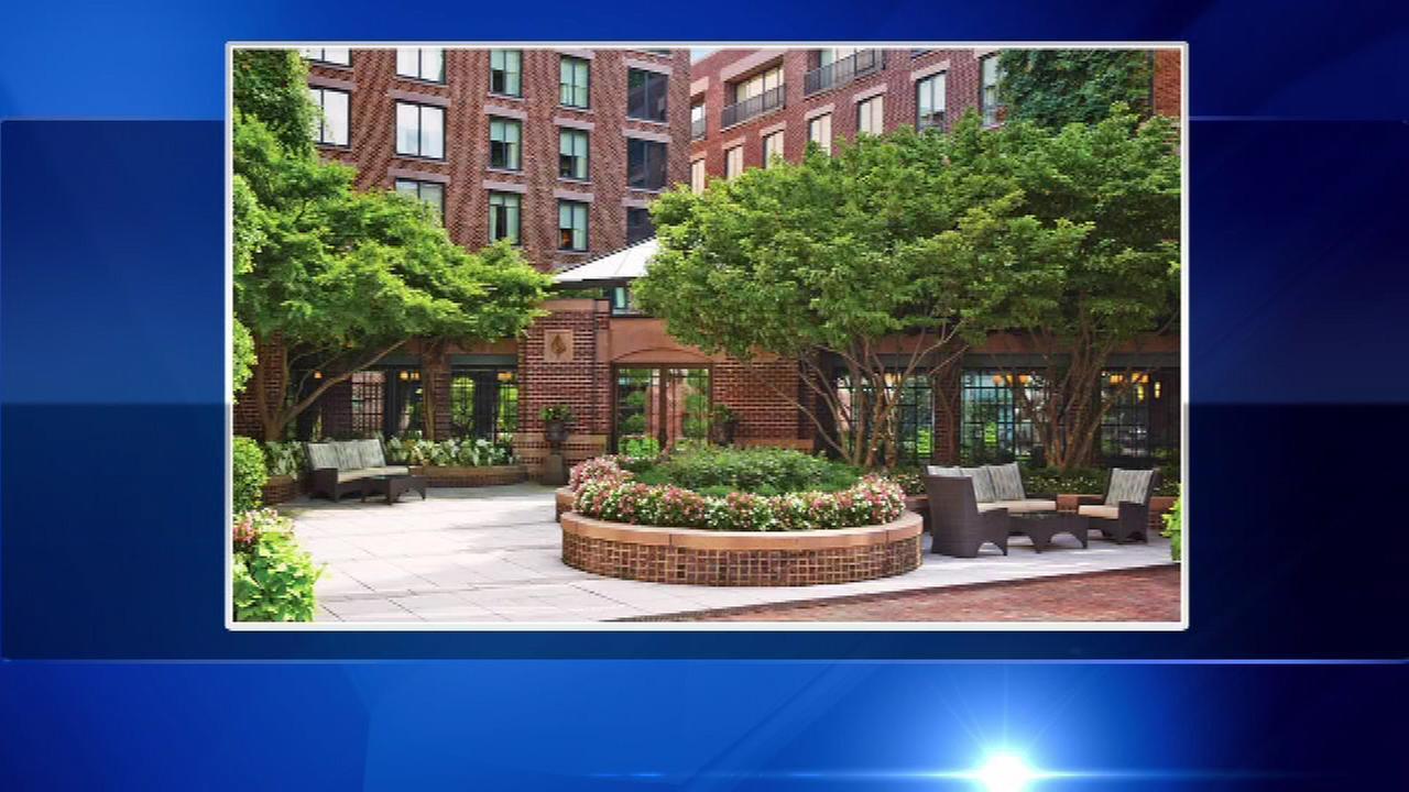 The Four Seasons Hotel in Georgetown in Washington, D.C.