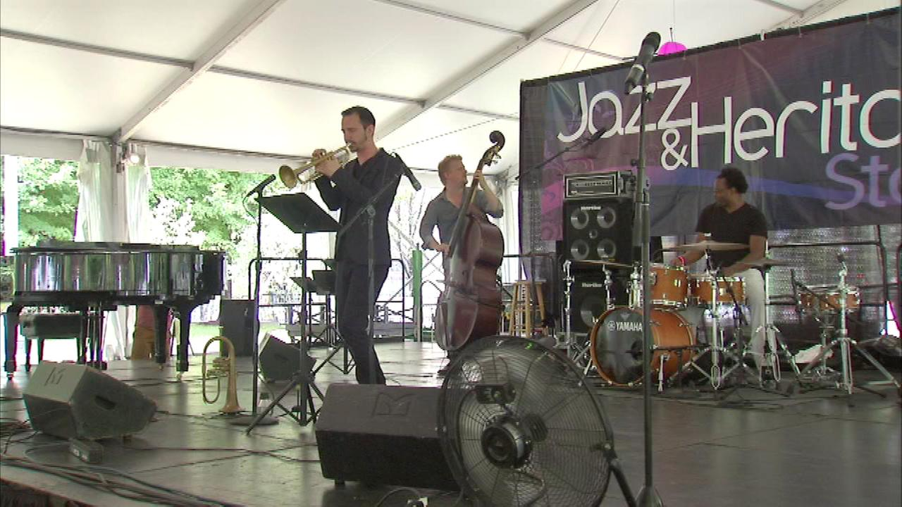 One of the citys most popular music festivals is well under way, as the Jazz Fest continues in downtown Chicago.