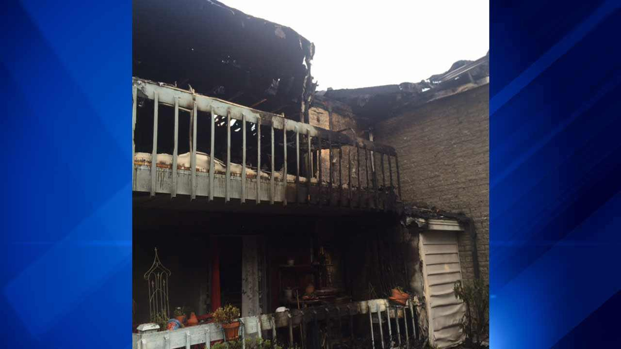 1 injured in Orland Park townhome fire
