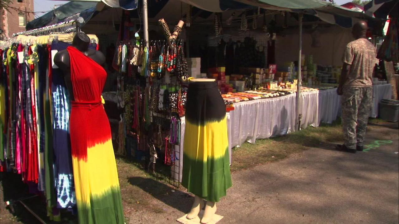 Chicagos Washington Park is transformed into an authentic African village for the 26th annual African Festival of the Arts Labor Day weekend.