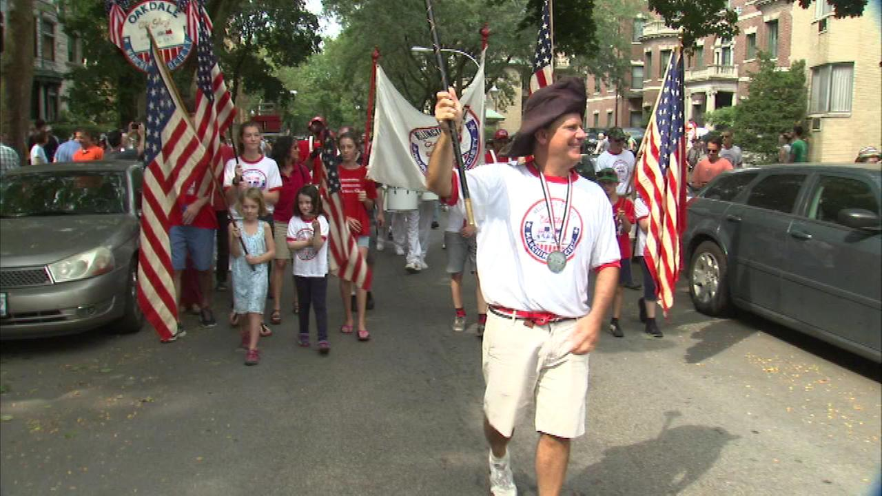 The Woogms Parade stepped off at Pine Grove and Wellington Monday morning.