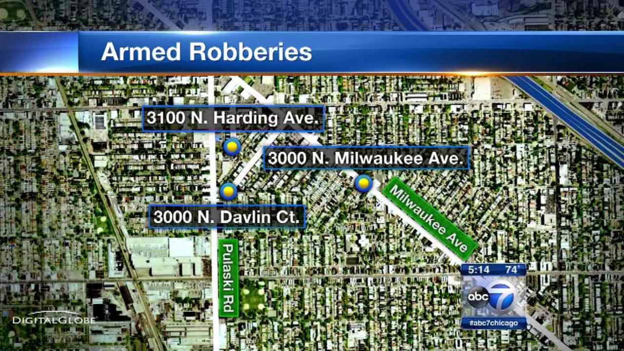 Police warn of Logan Square armed robberies