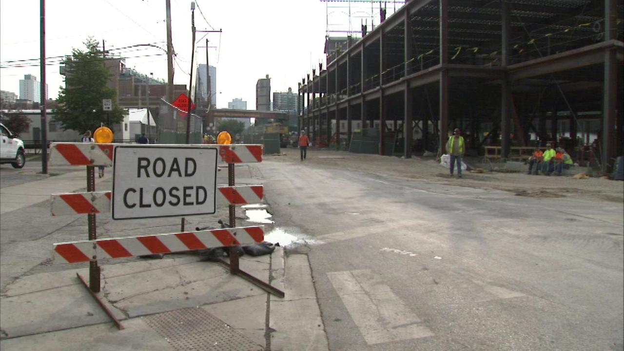 Waveland Ave. next to Wrigley Field partially closed until April 2016