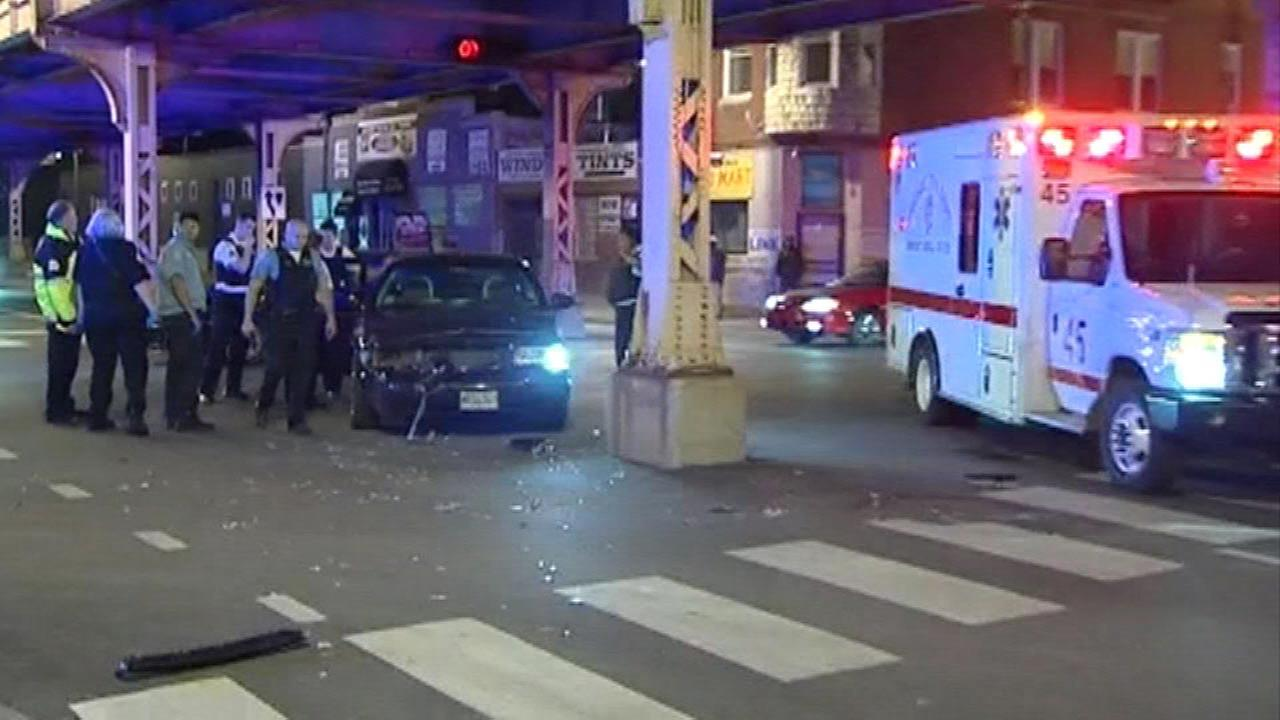 2 officers injured in East Garfield Park hit-and-run