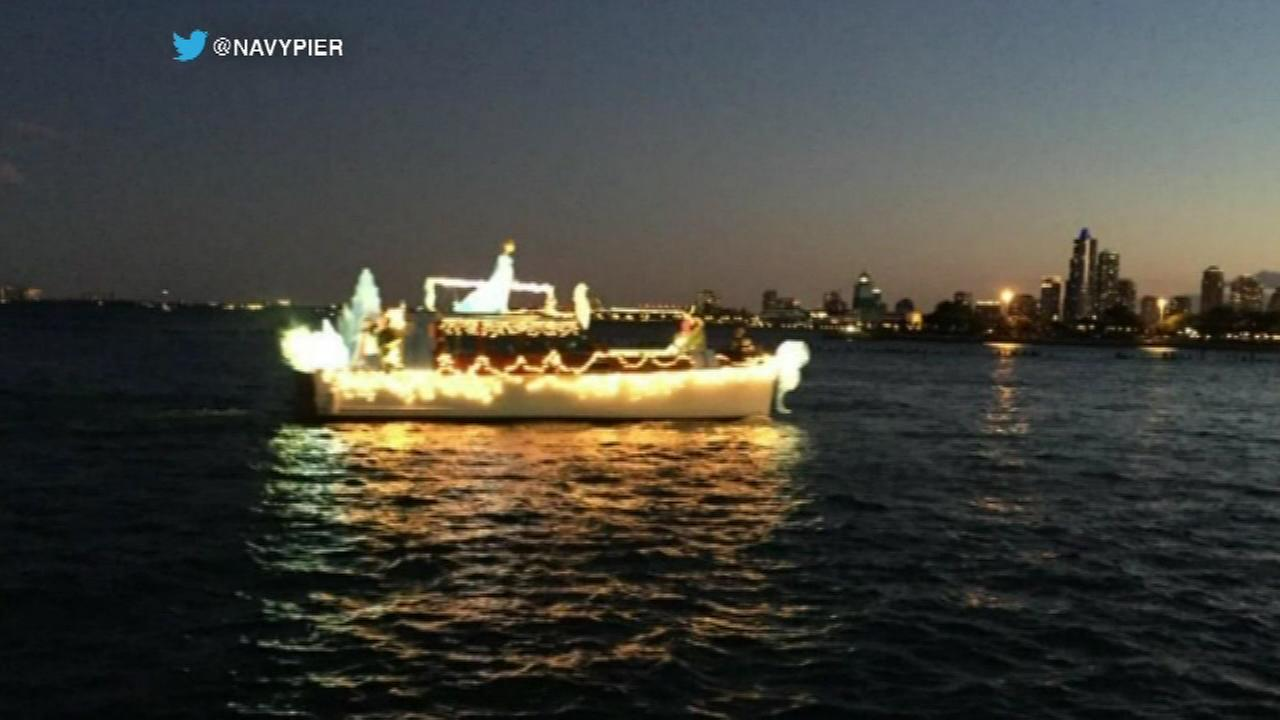 Venetian Night features boat parade at Navy Pier