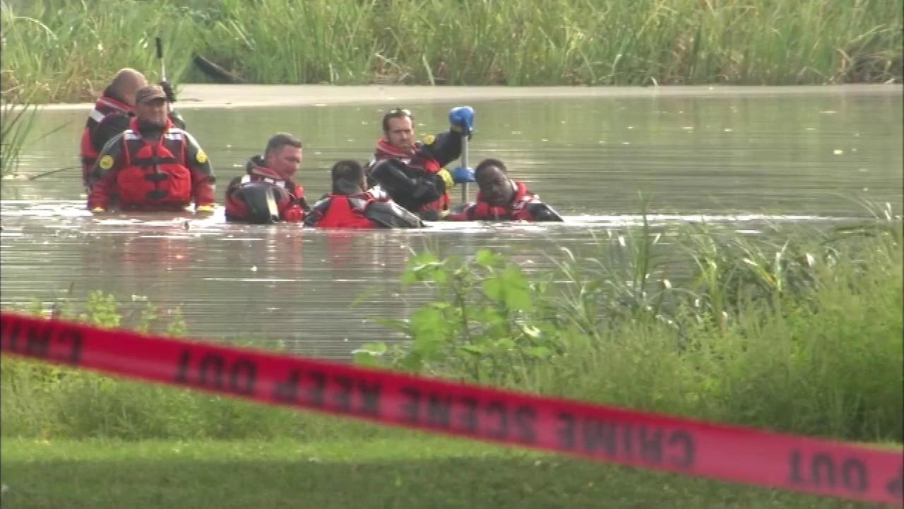 The search has ended Sunday for a toddlers body parts at the Garfield Park lagoon.