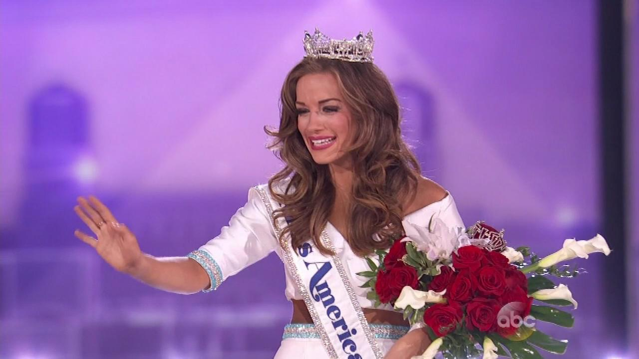 Miss Georgia Betty Cantrell is the new Miss America.