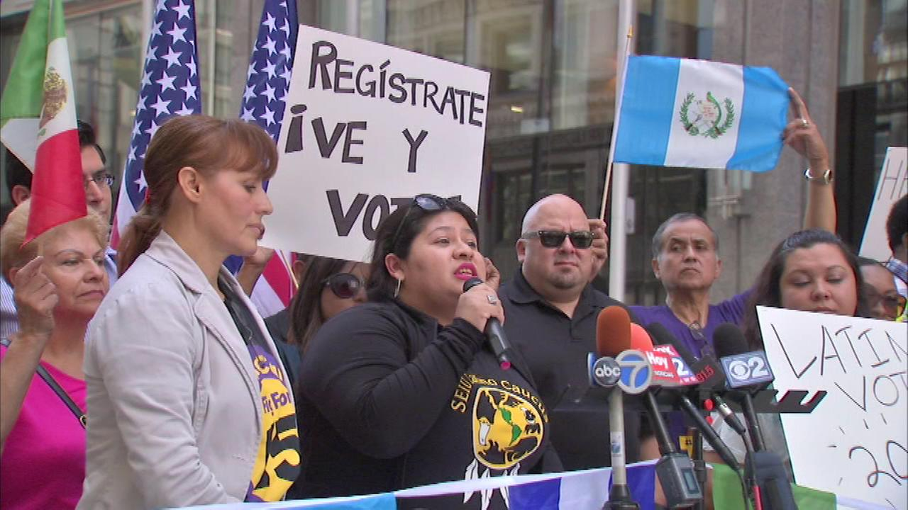 Tuesday marks the start of Latino Heritage Month, and leaders in the community are encouraging people to get registered to vote.