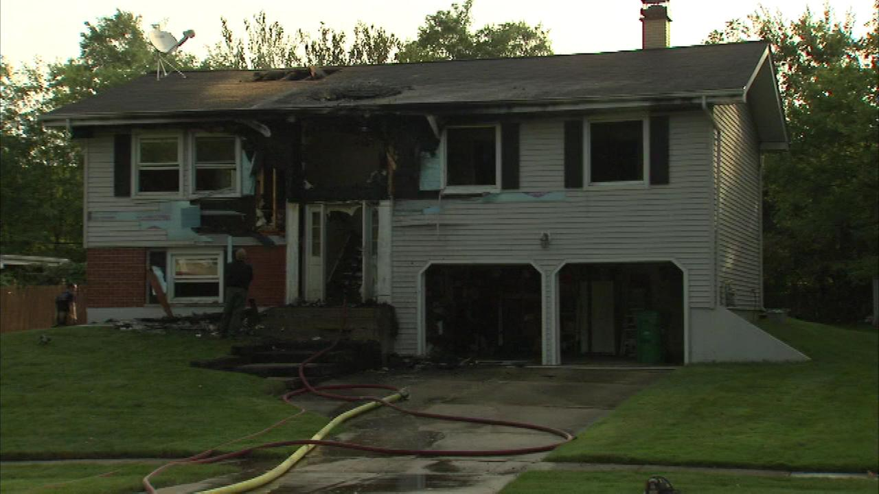 Cause of Lombard house fire unknown